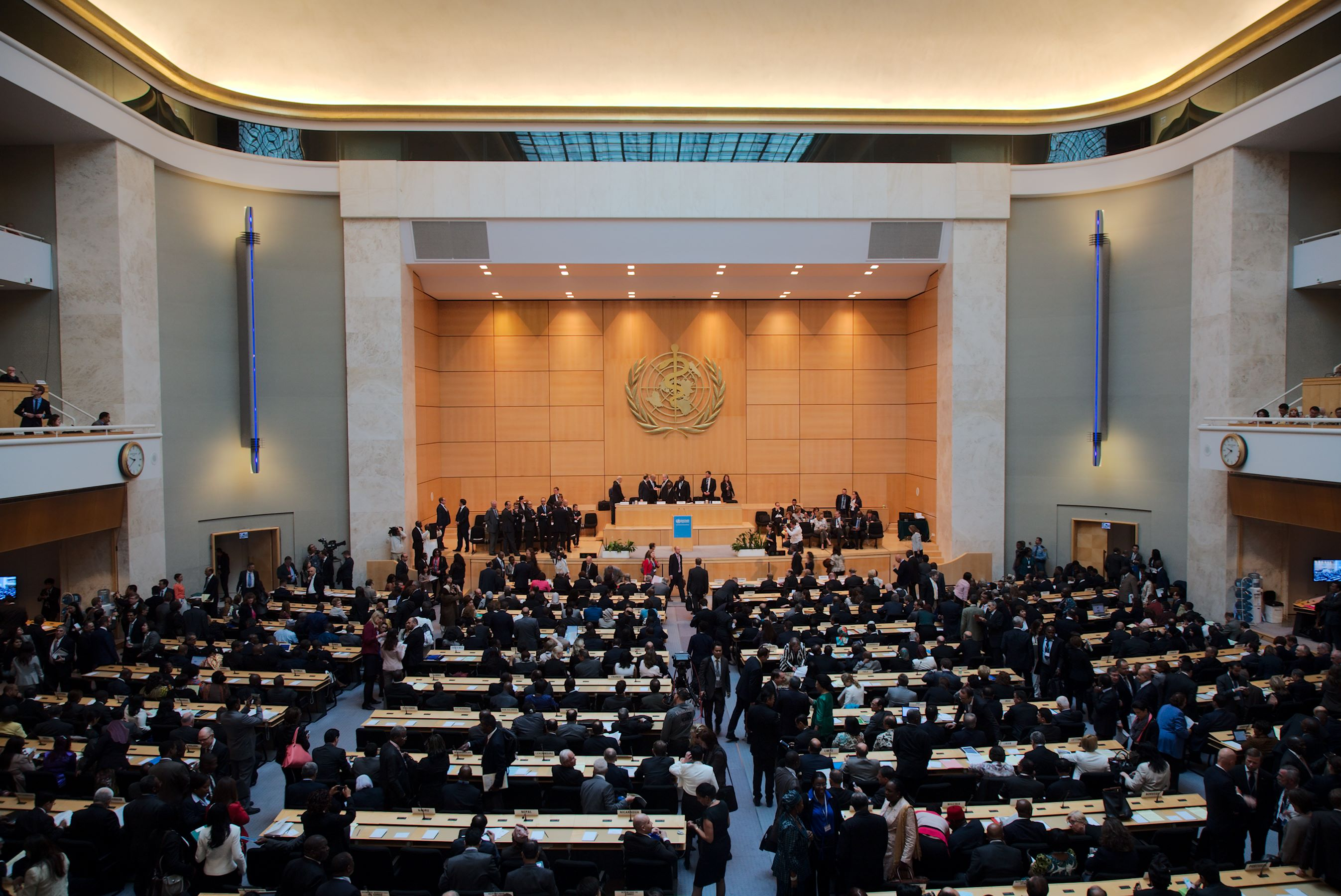 The 67th World Health Assembly, Geneva, May 2014