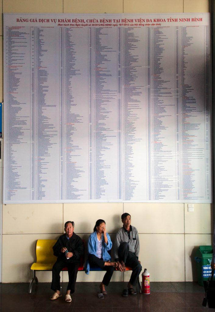 Vietnamese hospital benefits plan