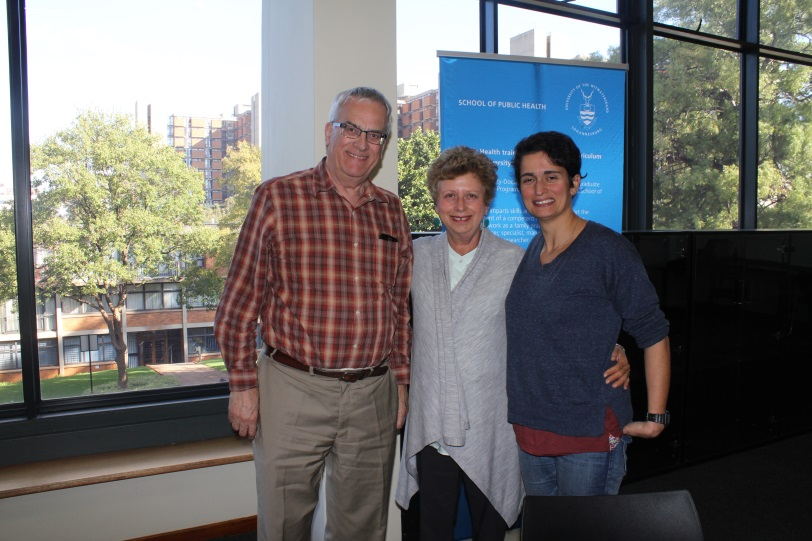 Professor Tony Culyer (York University), Professor Karen Hofman (PRICELESS SA) and Kalipso Chalkidou (NICE International)